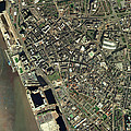 Liverpool, Uk, Aerial Image by Getmapping Plc