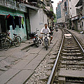 Living By The Tracks In Hanoi by Shaun Higson
