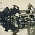 Livingston Manor - 1938 Flood by Ericamaxine Price