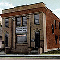 Livingston Manor Ny - National Bank by Ericamaxine Price