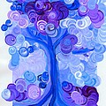 Liz Dixon's Tree Blue by First Star Art
