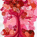 Liz Dixon's Tree Red by First Star Art