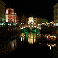Ljubljana By Night by Ivan Slosar