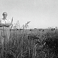 Lloyd Owens On His Farm by Jan W Faul
