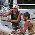 Loading Boat by David Rich