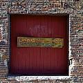 Loading Dock Door by Richard Gregurich