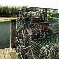 Lobster Pots by Skip Willits