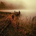 Loch Ard Early Morning Mist by John Farnan