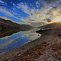 Loch Long As The Sun Sets by Stephen Bowden