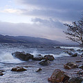 Loch Ness Shoreline At Dusk by Howard Kennedy