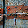 Lock And Latch by Randy Harris