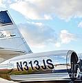 Lockheed Jet Star by Lynda Dawson-Youngclaus