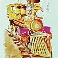 Locomotive by Frank Hunter