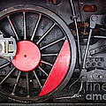 Locomotive Wheel by Carlos Caetano