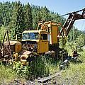 Logging Truck 2 - Burke Idaho Ghost Town by Daniel Hagerman