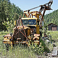 Logging Truck - Burke Idaho Ghost Town by Daniel Hagerman
