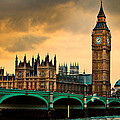 London - Big Ben And Parliament by Harry Neelam