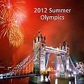London Bridge 2012 Olympics by Florene Welebny