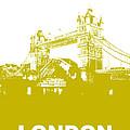 London Bridge Poster by Naxart Studio