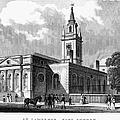 London: Church, C1830 by Granger