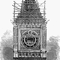 London: Clock Tower, 1856 by Granger