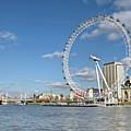 London Eye by Paul Biris