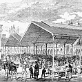 London: Fish Market, 1870 by Granger