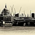 London From The Southbank by David Resnikoff