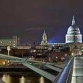 London Millennium Bridge by Travel Images Worldwide
