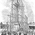 London: Nelson Column, 1845 by Granger