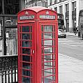London Phone Box by Dawn OConnor