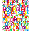London Text Bus Blind by Michael Tompsett