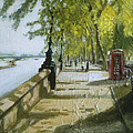London Westminster Embankment by Paul Mitchell