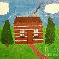 Lone Log Cabin by Jeannie Atwater Jordan Allen