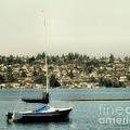 Lonely Boat by John Krakora