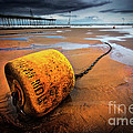 Lonely Yellow Buoy by Meirion Matthias
