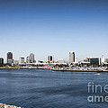 Long Beach Skyline by Tommy Anderson