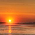 Long Beach Sunset by Matt Dobson