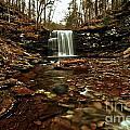 Long Canyon Waterfall by Adam Jewell