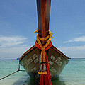 Long Tail Boat Thailand by Bob Christopher
