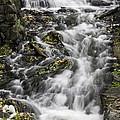 Longfellow Grist Mill Waterfall by Betty Denise