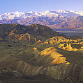 Looking At Panamint Range by Tim Fitzharris