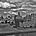 Looking Downtown From The Erie Basin Marina by Michael Frank Jr