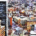 Looking East In Baltimore by Susan Isakson