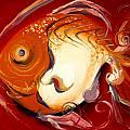 Loose Goldfish by J Vincent Scarpace