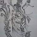 Lord Krishna by Aditya Sarawagi