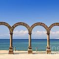 Los Arcos Amphitheater In Puerto Vallarta by Elena Elisseeva
