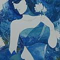 Lotus Blues by Vinaya M Kumar
