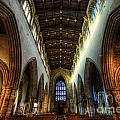 Loughborough Church Ceiling And Nave by Yhun Suarez