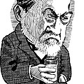 Louis Pasteur, Caricature by Gary Brown